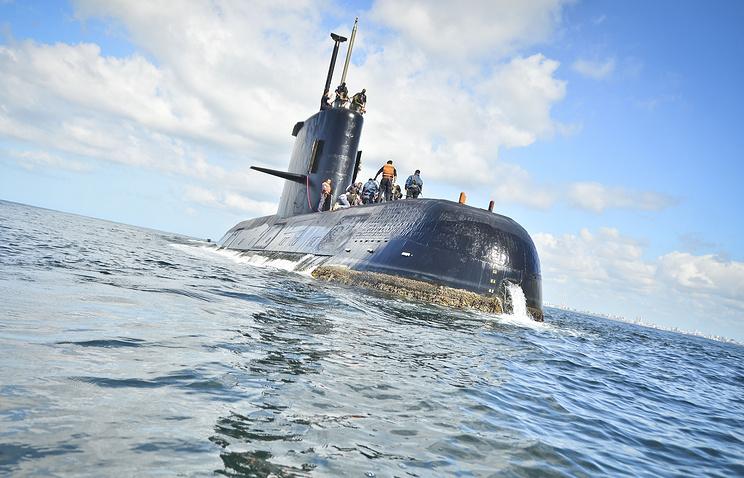 Аргентина провела тестовый взрыв взоне исчезновения подлодки «Сан Хуан»