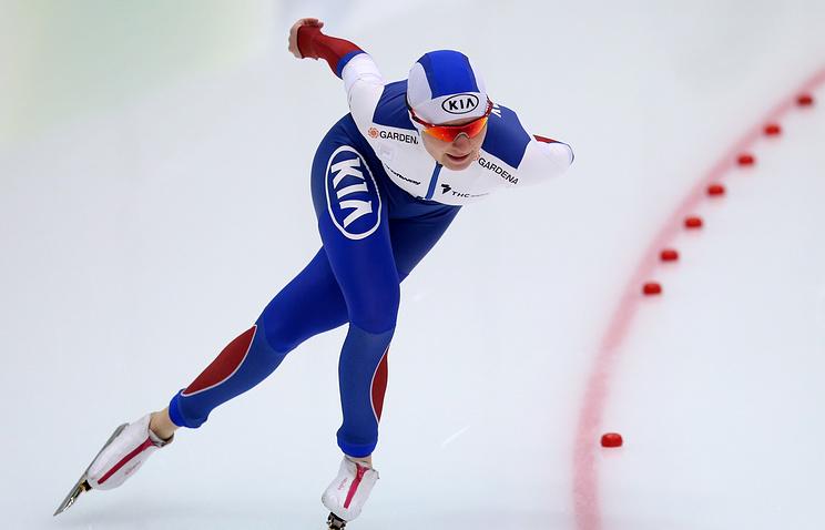 Конькобежка Воронина завоевала золото наэтапе Кубка мира вСолт-Лейк-Сити