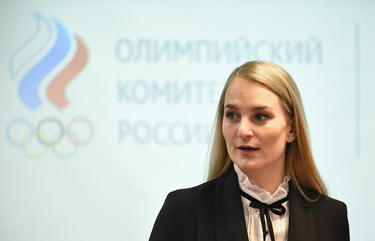 Председатель комиссии спортсменов Олимпийского комитета России Софья Великая