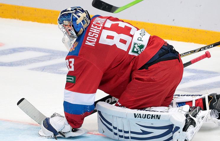 Кошечкин сыграет вматче сборной РФ сКанадой