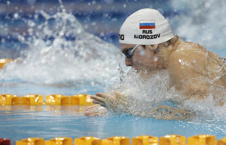 Белорусские пловцы завоевали бронзовую медаль вкомбинированной эстафете наЧЕ вДании