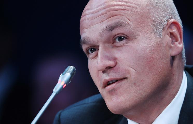 Президент Российской шахматной федерации Андрей Филатов