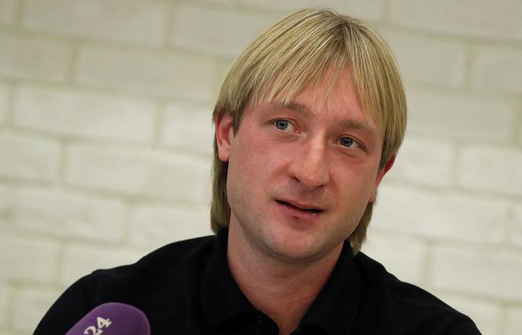 Плющенко отшутился, что будет министром спортаРФ