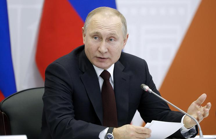 """Путин призвал глав малых городов находить собственные """"изюминки"""" для развития"""