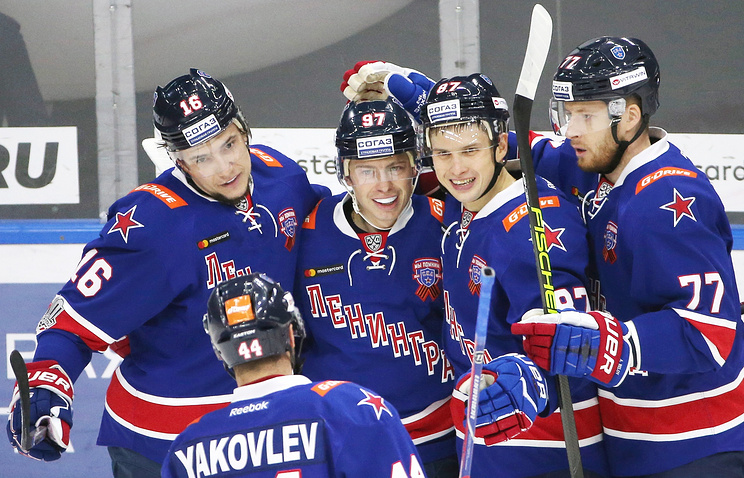 СКА установил новый рекорд попроценту набранных очков вКХЛ
