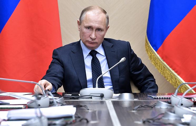 Путин обозначил рост ВВП в минувшем году на1,4%