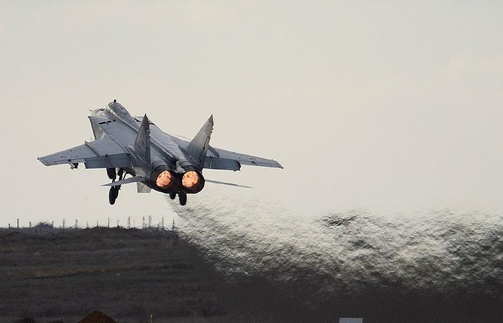 Самолеты ВКСРФ занеделю шесть раз поднимались наперехват иностранных самолетов