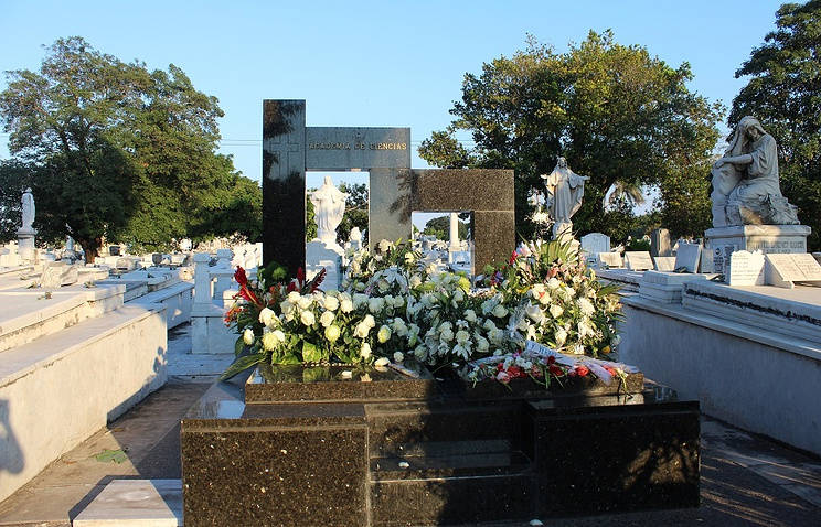 Покончивший ссобой старший сын Фиделя Кастро похоронен вГаване