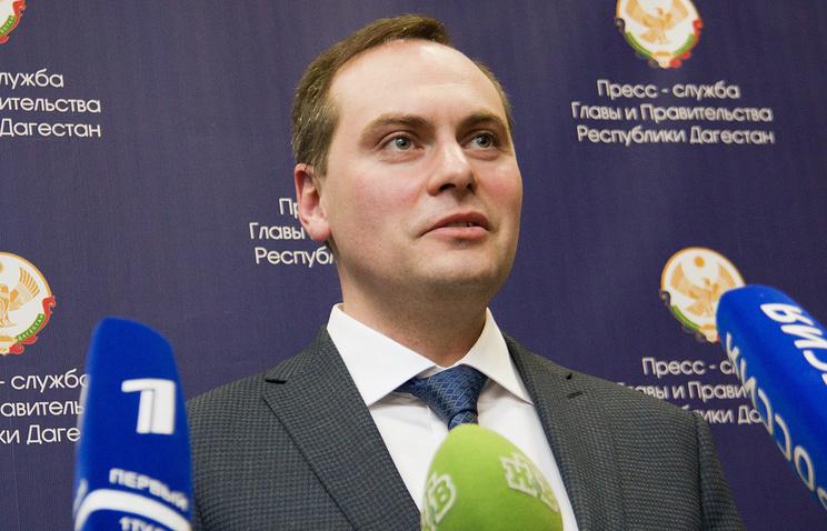 Председатель правительства Республики Дагестан Артем Здунов