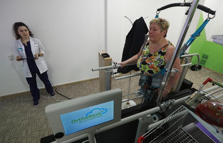 """Экспериментальный """"Умный зал ФПР"""" призван вернуть пациентов к жизни в условиях повседневности"""