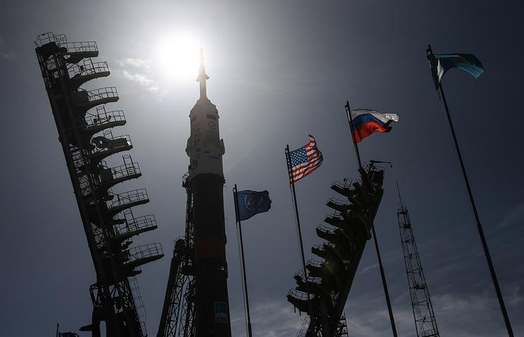 Стартовый комплекс космодрома Байконур