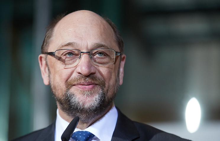 Председатель СДПГ Мартин Шульц