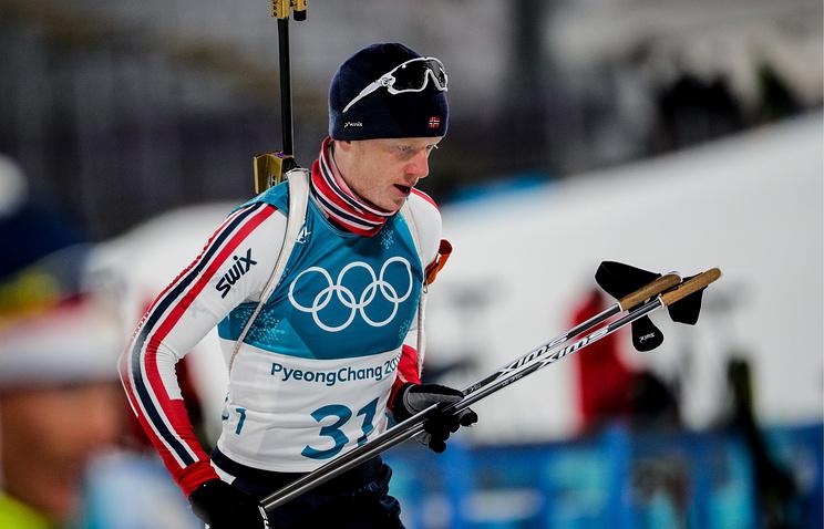 Норвежец Йоханнес Бе одержал победу персональную гонку наОИ