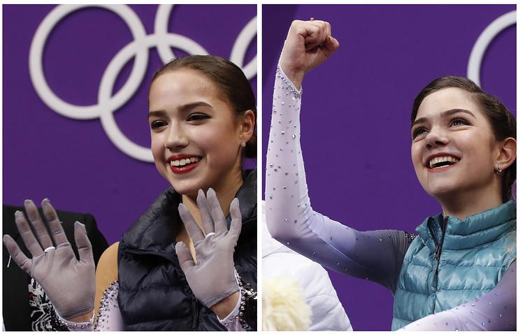 Картинки по запросу загитова фото с олимпийскими медалями