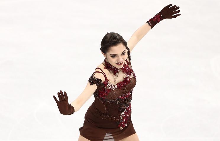 «Надеюсь, моя олимпийская медаль стала для Этери Георгиевны хорошим подарком»— Евгения Медведева