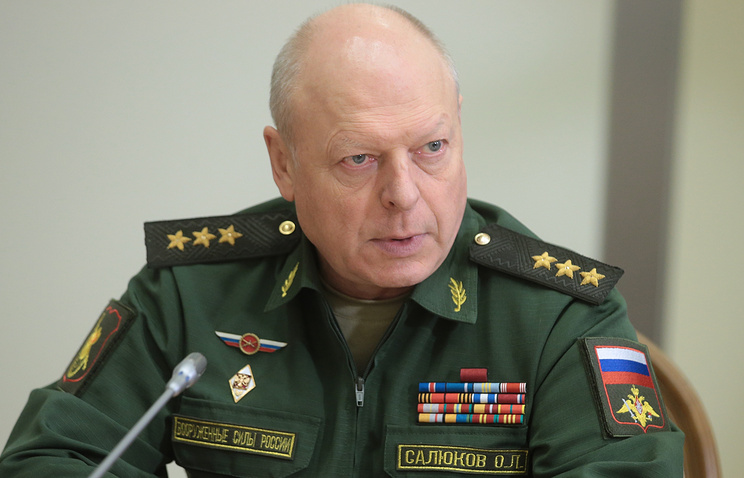 Главком СВ РФ Олег Салюков