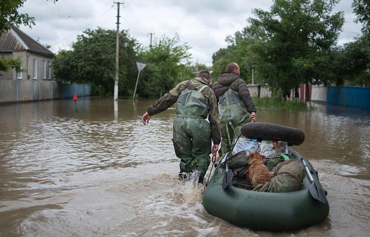 Наводнение в селе Левокумка Ставропольского края, 2017 год