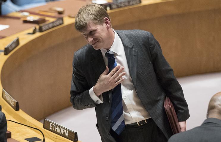 И.о. британского постпреда при ООН Джонатан Аллен