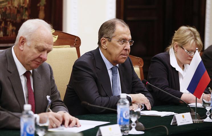 Лавров: РФ и Вьетнам продолжат отстаивать принципы справедливости на международной арене