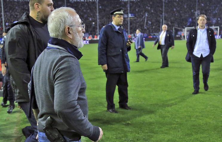 Президенту ПАОКа Ивану Саввиди запретили три года посещать футбольные матчи