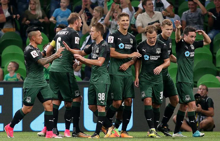 Футболисты'Краснодара