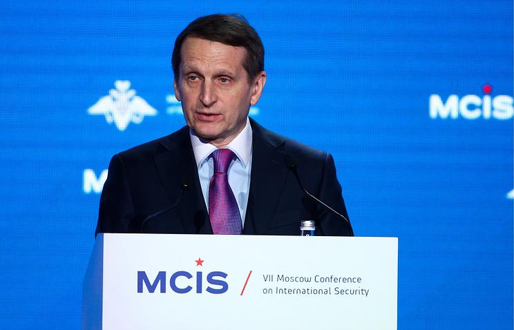 Укрепление новых центров силы неустраивает США иЕвропу— Нарышкин