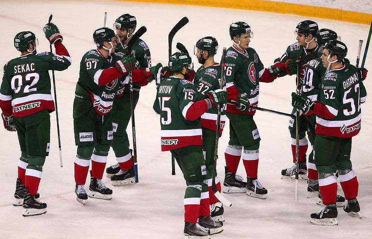 Бийчанин помог хоккейному клубу «АкБарс» выйти вфинал Кубка Гагарина