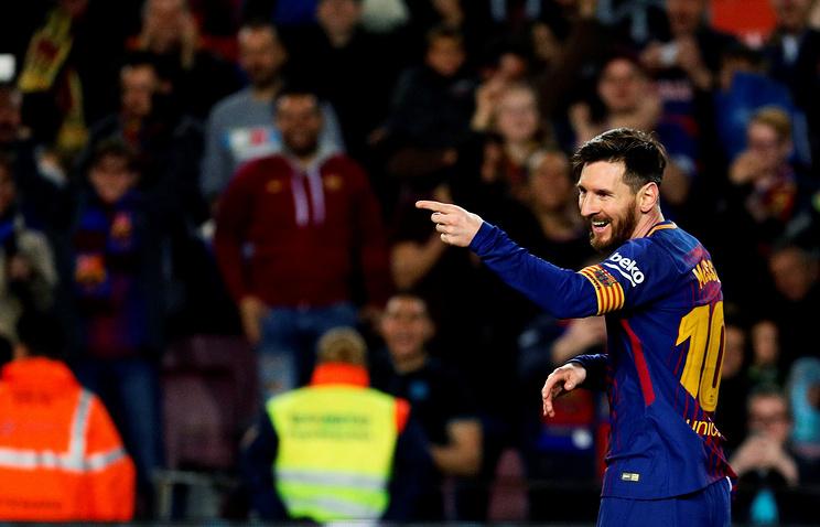 Месси оформил 40-й хет-трик за«Барселону»
