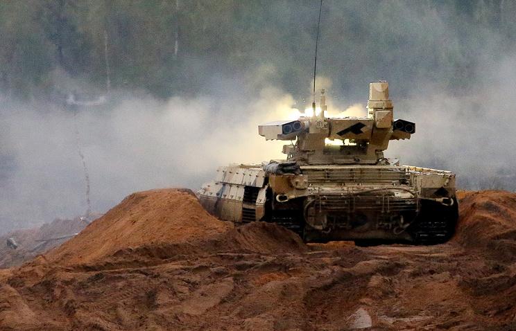 МинобороныРФ приняло навооружение «Терминаторы»