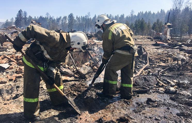 Засутки вБурятии устранено семь лесных пожаров