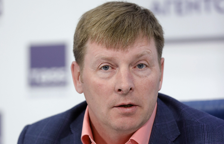 Президент Федерации бобслея России Александр Зубков