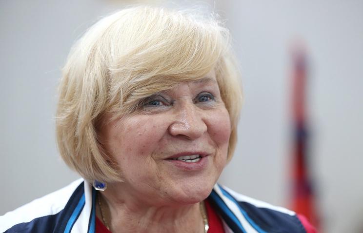 Старший тренер сборной России по спортивной гимнастике Валентина Родионенко