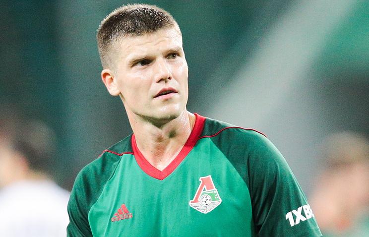 Футболист Денисов получил штраф заоскорбление инспектора допинг-контроля
