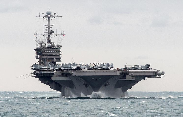 Авианосец Harry Truman приступил квыполнению задач вСредиземном море— ВМС США