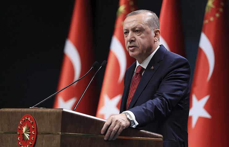 Правящая партия Турции единогласно выдвинула Эрдогана кандидатом на президентских выборах 24 июня