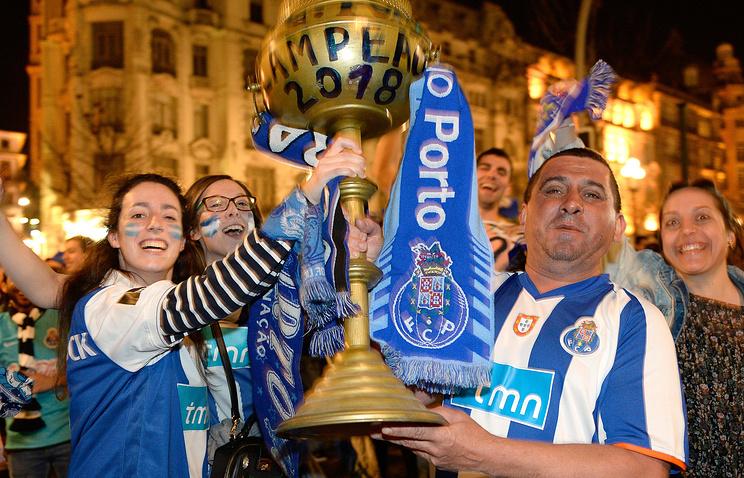 Порту впервый раз за5 лет стал чемпионом Португалии