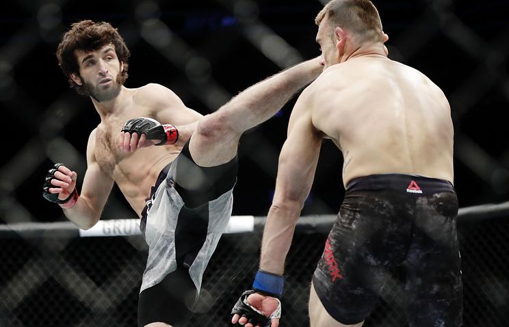 Магомедшарипов выступит натурнире UFC 227 против Родригеса