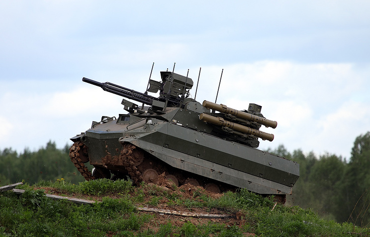 """Роботизированный комплекс """"Уран-9"""""""