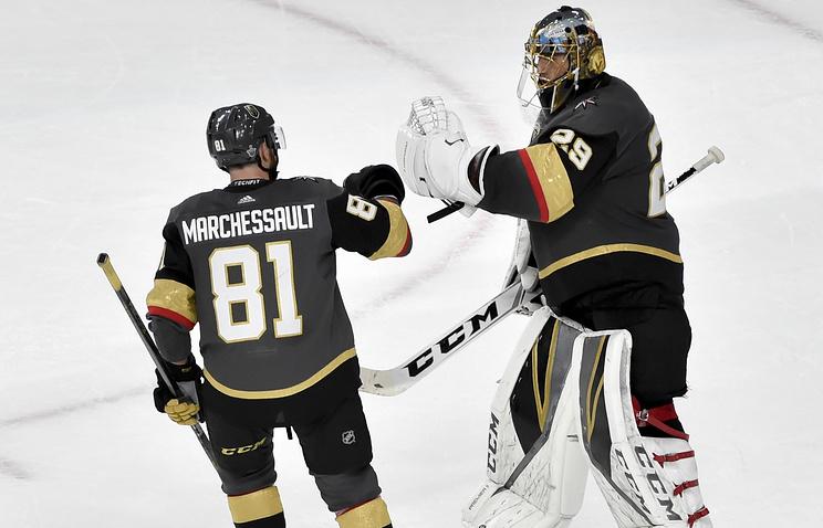 НХЛ: «Вегас» вышел вперед всерии с«Виннипегом»