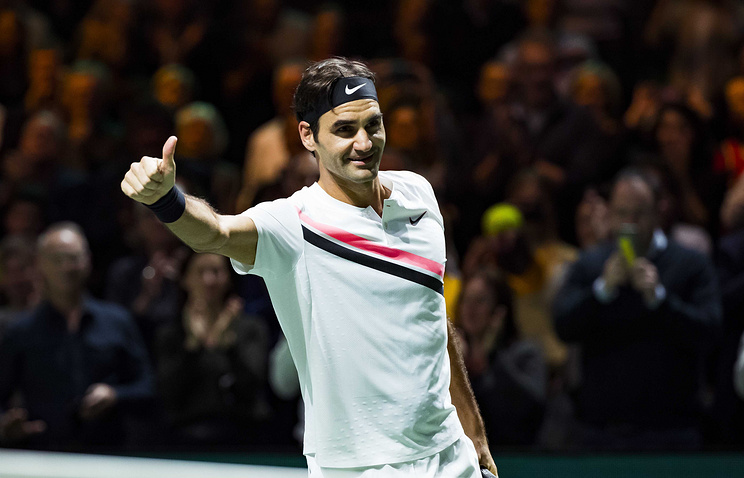 Швейцарский теннисист Роджер Федерер вернулся напервое место врейтинге ATP