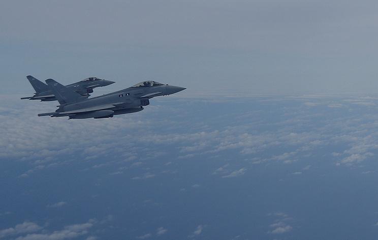 Лондон поднял истребители над темным морем из-за полетов русских Су