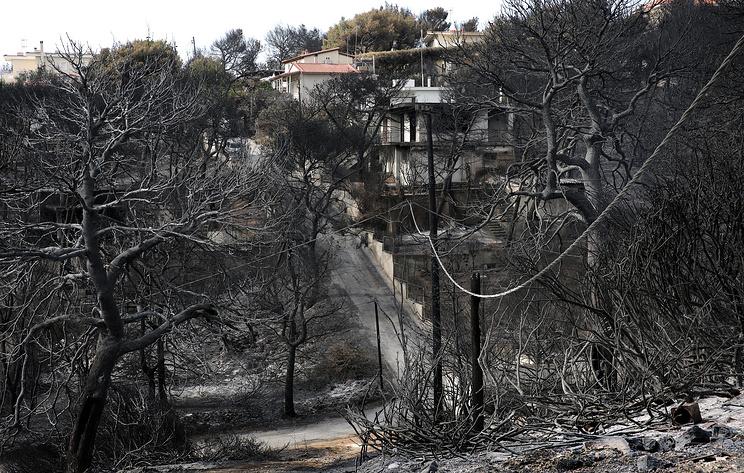 Греческий министр: причина смерти людей впламени - непромедление пожарных, асамострой