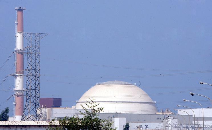 """АЭС """"Бушер"""" в Иране. Фото ЕРА/ИТАР-ТАСС"""