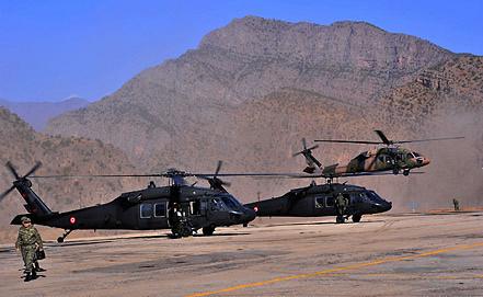 Вертолеты турецкой армии. Фото EPA/ИТАР-ТАСС
