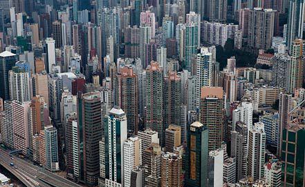 Вид Гонконга. Фото ЕРА/ИТАР-ТАСС
