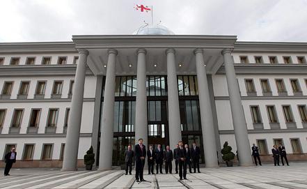 Дворец президента в Тбилиси. Фото из архива ИТАР-ТАСС