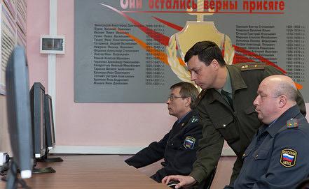 Переаттестация сотрудников МВД. Фото ИТАР-ТАСС