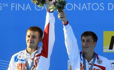 Виктор Минибаев /слева/ и Артем Чесаков  Фото EPA/ИТАР-ТАСС