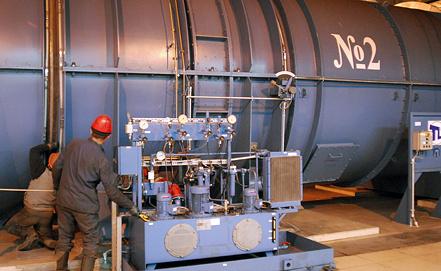 Воздухонагнетательный аппарат шахты. Фото ИТАР-ТАСС