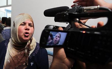 Вдова Мохамед Брахми. Фото EPA/ИТАР-ТАСС